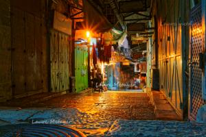 Jérusalem souk de nuit