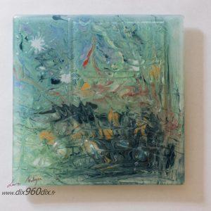 Peintures verre fusionné
