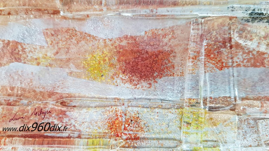 Art-glass slumping ou thermoformage